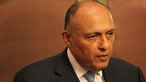 وزير الخارجية المصري وصل الى لبنان في زيارة رسمية