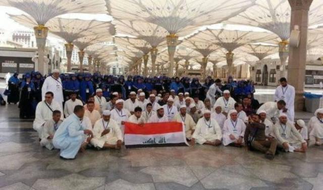 6861 حاجاً عراقياً وصلوا إلى بيت الله الحرام