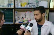 الدكتور أنس الصالح مدير مركز الشهيد محمد الريان الطبي في مخيم اليرموك في حوار لوكالة إيران اليوم الإخبارية