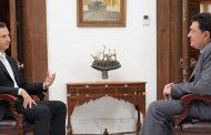 الرئيس الأسد في مقابلة مع صحيفة كاثيمرني اليونانية: سورية تحارب الإرهابيين الذين هم جيش النظام التركي والأمريكي والسعودي