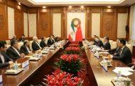 ظريف لنظيره الصيني : نأمل برسم صورة اوضح لمستقبل الاتفاق النووي