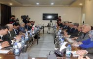 علاء الدين بروجردي يبحث سبل تعزيز وتطوير العلاقات البرلمانية بين إيران وسورية