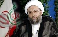 رئيس السلطة القضائية آية الله صادق آملي لاريجاني : صمت الدول المتشدقة بحقوق الانسان تجاه جرائم الكيان الصهيوني سيفضحها