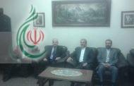 سفراء إيران وفلسطين يقدمون التعازي بوفاة الرئيس جلال الطالباني