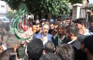 نحو 1200 من أهالي كفريا والفوعة يصلون إلى مدينة السيدة زينب ( ع ) ومحافظ ريف دمشق يوجه المديرين المعنيين لتأمين الإقامة اللائقة وجميع الاحتياجات والمستلزمات
