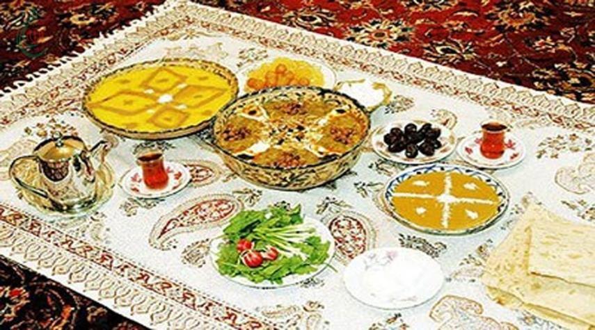 المائدة الإيرانية في شهر رمضان