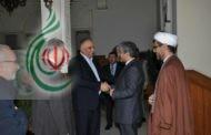 محافظ حمص طلال البرازي يلتقي سفير الجمهورية الإسلامية الإيرانية في سورية جواد تركآبادي حفظه الله
