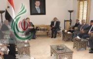 السفير الإيراني في دمشق يؤكد لرئيس مجلس الشعب السوري : انتصار سورية في مكافحة الارهاب انتصاراً للجمهورية الإسلامية الإيرانية