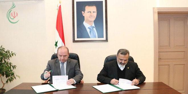 مذكرة تفاهم لتعزيز التعاون السياحي بين سورية وإيران