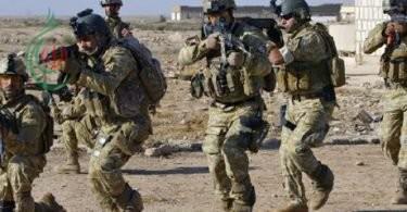 القوات الأمنية تعتقل أربعة إرهابيين يعملون مقاتلين بـ