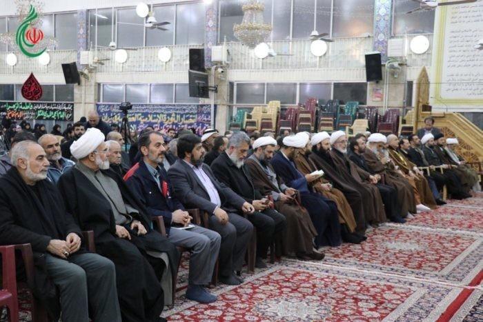بحضور مبارك لممثل القائد الخامنئي في سورية .. احتفالاً بهيجاً بمناسبة مرور أربعين عاماً على انتصار الثورة الإسلامية في إيران