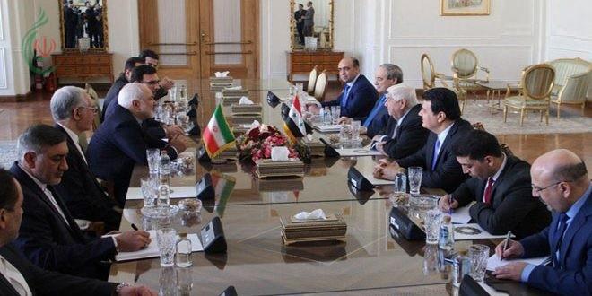 وليد المعلم في طهران يبحث مع عدد من المسؤولين الإيرانيين تعزيز العلاقات الثنائية بين البلدين