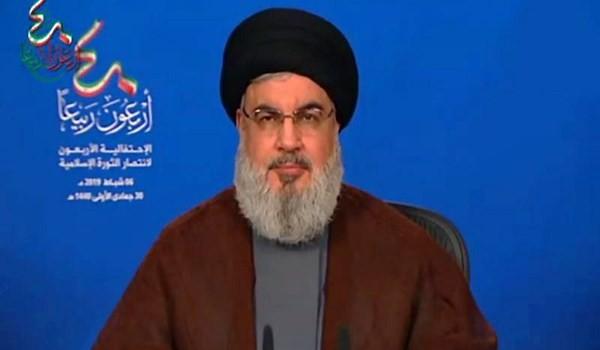 سماحة السيد حسن نصر الله: الجمهورية الإسلامية هي الدولة الأكثر تأثيراً في المنطقة