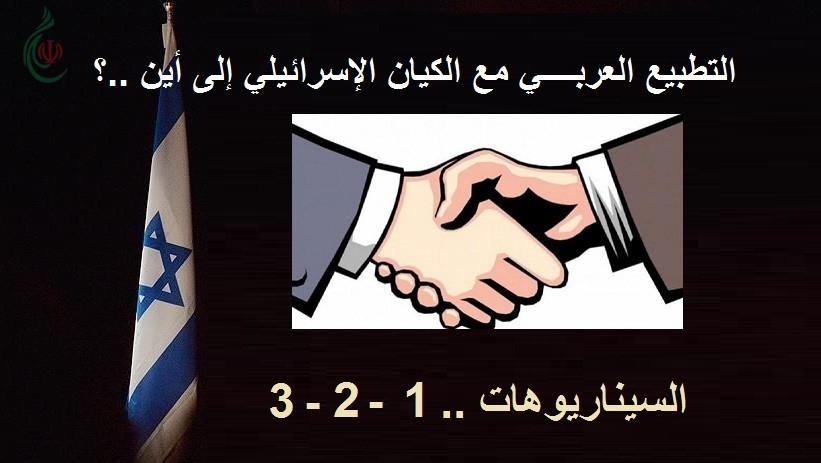 التطبيع العربــــي مع الكيان الإسرائيلي إلى أين ..؟ .. استثمار حالات الصراعات .. السيناريوهات .. 1- 2- 3