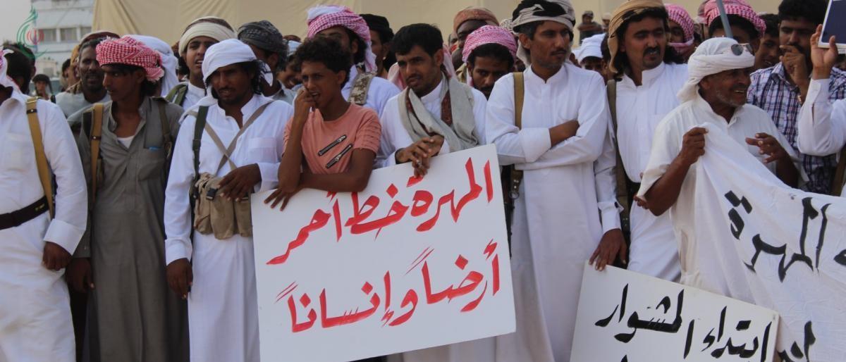 اشتباكات بين قبائل وموالين للسعودية .. في المهرة اليمنية ..؟