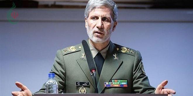 وزير الدفاع الإيراني : سنعزز قدراتنا الدفاعية لمنع وقوع أي حرب