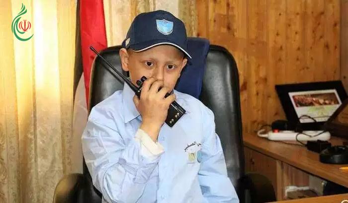 طفل من غزة  .. مديراً لشرطة نابلس ..!