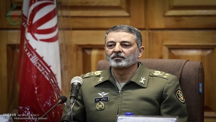 قائد الجيش الإيراني : حماية سماء إيران الإسلامية هدفنا وهويتنا وعنواننا