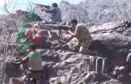 عملية إغارة على مواقع مرتزقة العدوان السعودي الأمريكي في جبهة ناطع بالبيضاء