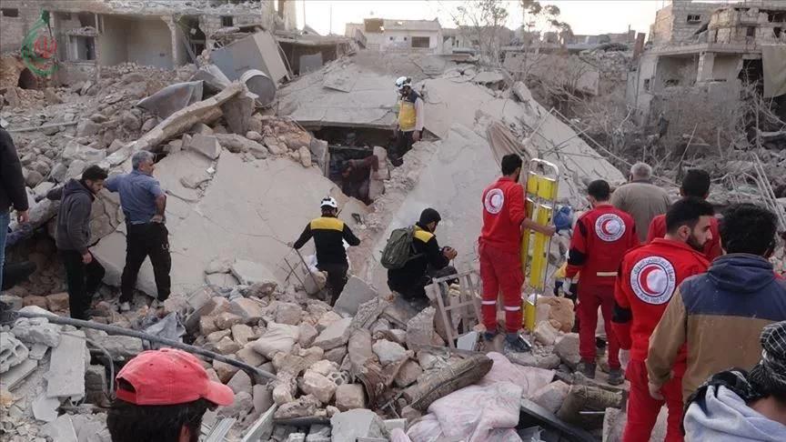 الأمم المتحدة تدين القصف والغارات الجوية على إدلب السورية