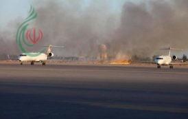 انفجارات واغلاق المطار الوحيد العامل في العاصمة الليبية