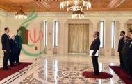 الرئيس الأسد يتقبل أوراق اعتماد السفير الإيراني لدى سورية و يتلقى برقية تهنئة من الرئيس روحاني بمناسبة عيد الجلاء