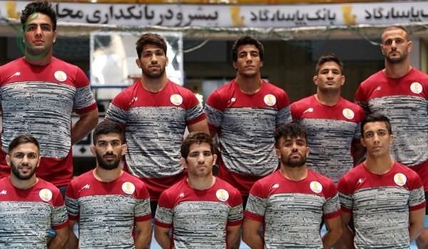 ايران تتربع على بطولة آسيا للمصارعة الرومانية
