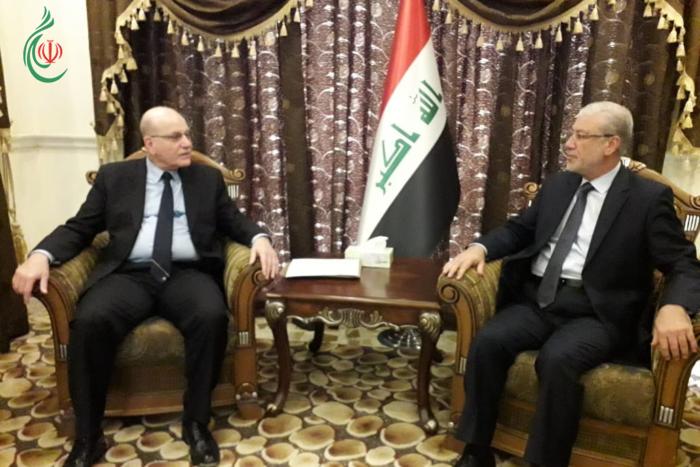 وفد «الديمقراطية» خلال لقائه نائب رئيس مجلس النواب .. يثمن دور العراق في دعم القضية الفلسطينية ويهنئ بالإنتصار على الإرهاب وصون وحدة البلاد