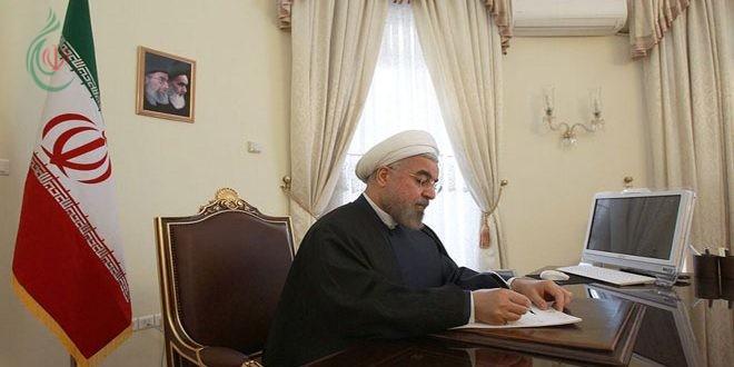 الشيخ روحاني يوعز بتنفيذ قانون الرد بالمثل على القرار الأمريكي ضد الحرس الثوري