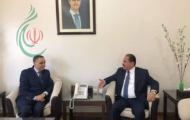 وزير النقل السوري يبحث مع السفير الجزائري تفعيل الاتفاقيات القائمة وتوقيع اتفاقيات جديدة وتعزيز التعاون المشترك بين البلدين