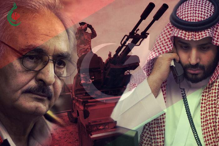 """واشنطن بوست .. بعد فشله في اليمن ولبنان وقطر .. بن سلمان """"المتهور"""" يؤجج حرباً أهلية بليبيا"""