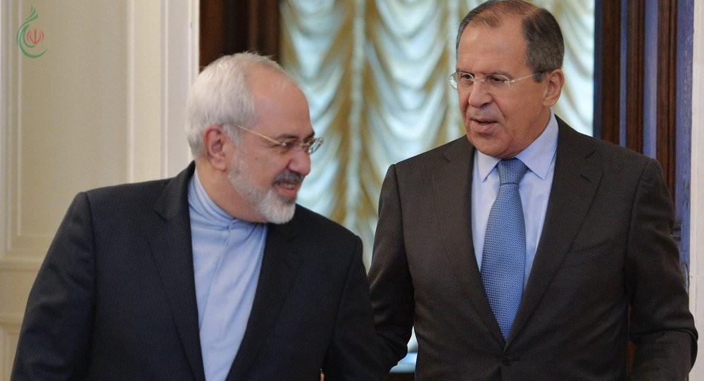 ظريف و لافروف يؤكدان على ضرورة مواصلة الجهود لإيجاد حل سياسي للأزمة في سورية و القضاء على بؤرة الإرهاب في إدلب
