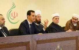 الرئيس الأسد يفتتح مركز الشام الإسلامي الدولي لمواجهة الإرهاب والتطرف: لا يمكن لمن يخون وطنه أن يكون مؤمناً حقيقياً وصادقاً