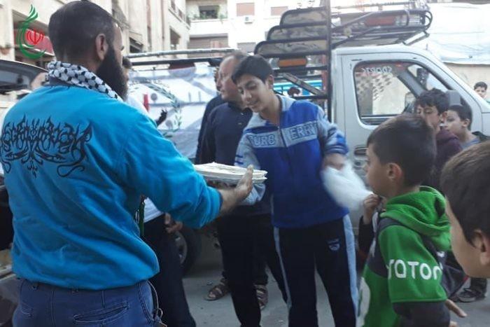 حملة وفا تقدم ( 15000 ) وجبة غذائية يومياً .. مبادرة حركة فلسطين حرة .. عطاء لا ينتهي