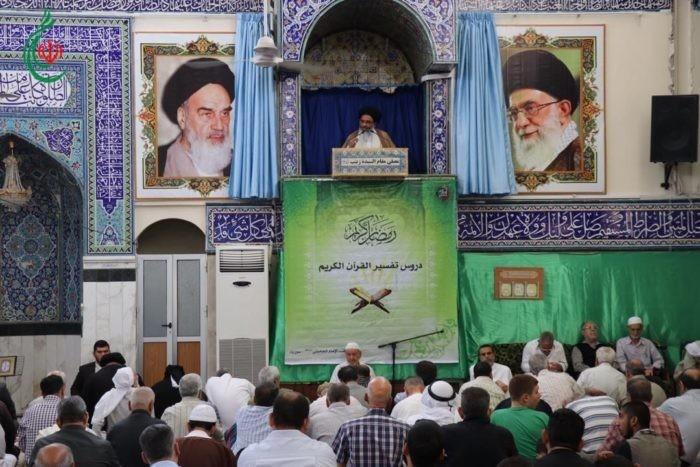 خطبة وصلاة الجمعة لسماحة آية الله السيد ابو الفضل الطباطبائي الأشكذري في مصلى مقام السيدة زينب (ع) ١١ رمضان ١٤٤٠ هجري