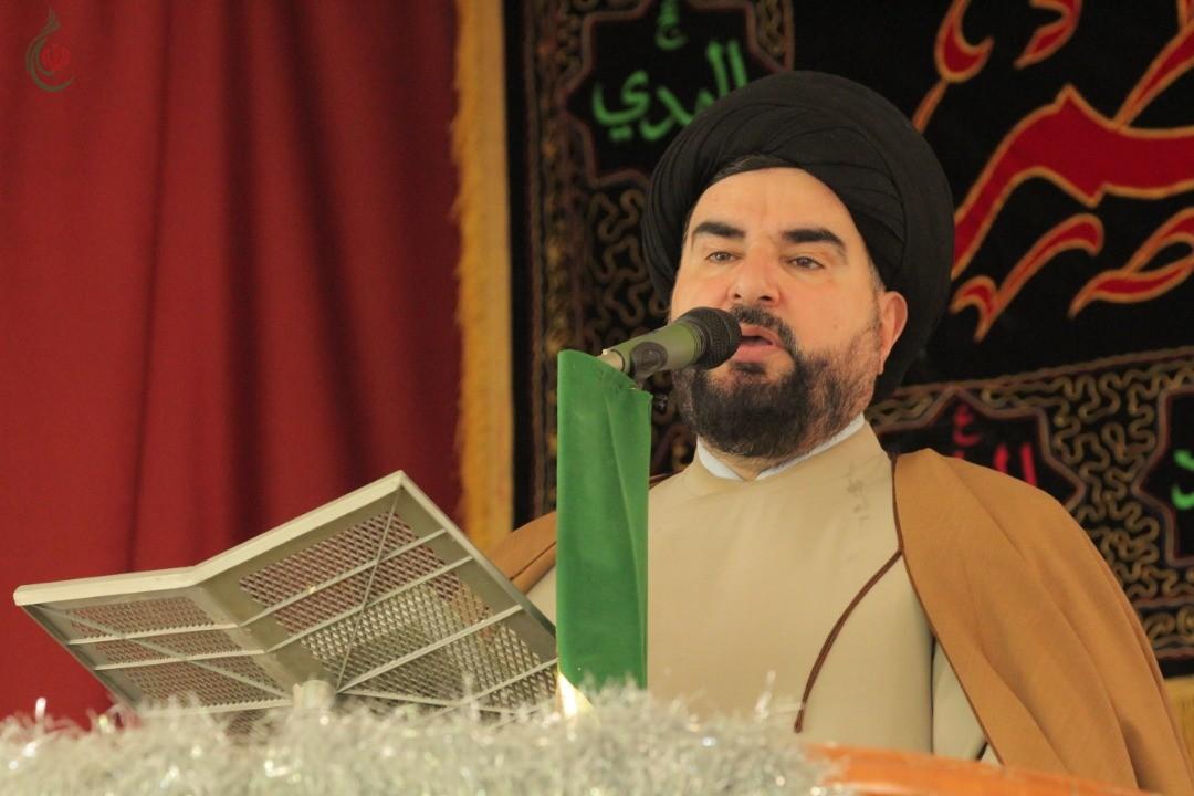 سماحة السيد الدكتور أيمن زيتون يؤكد في خطبة الجمعة أن العقوبات الاقتصادية على سورية وإيران الإسلامية لن يزيد محور المقاومة إلا صموداً