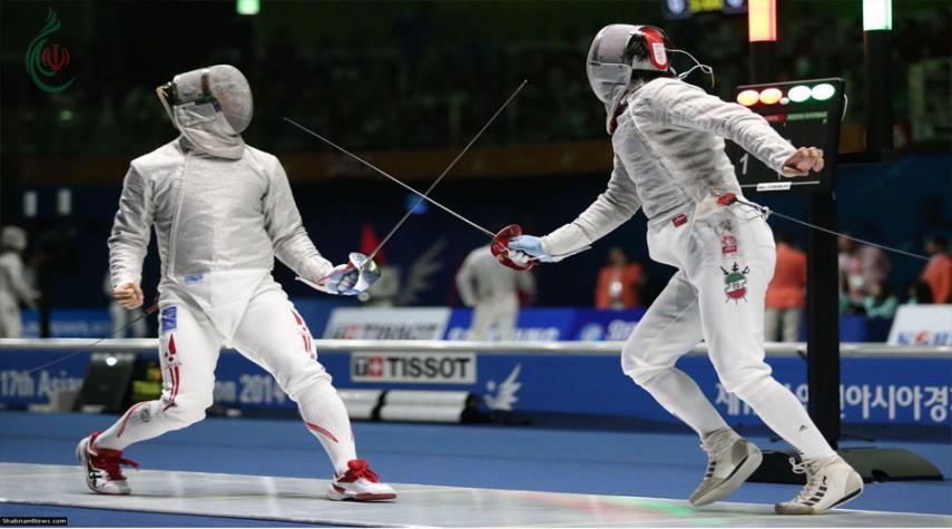 إيران تصعد الى نهائي بطولة آسيا للمبارزة