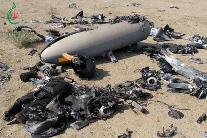 إعتراف أميريكي .. الحرس الثوري الإيراني يسقط طائرة تجسس أميركية في هرمزغان جنوبي البلاد