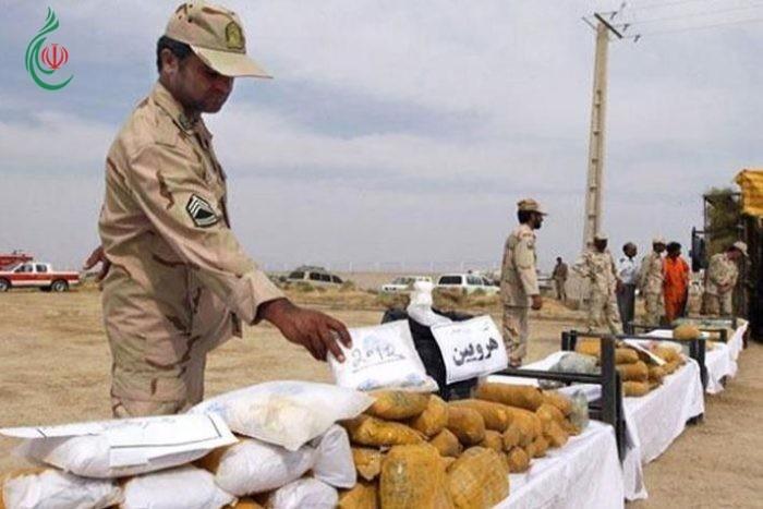القضاء على 11 عصابة لتهريب المخدرات جنوب غربي إيران