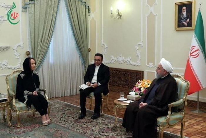 الرئيس الايراني حسن روحاني : البلطجية الأميركية مصدر الكثير من المشاكل في العالم