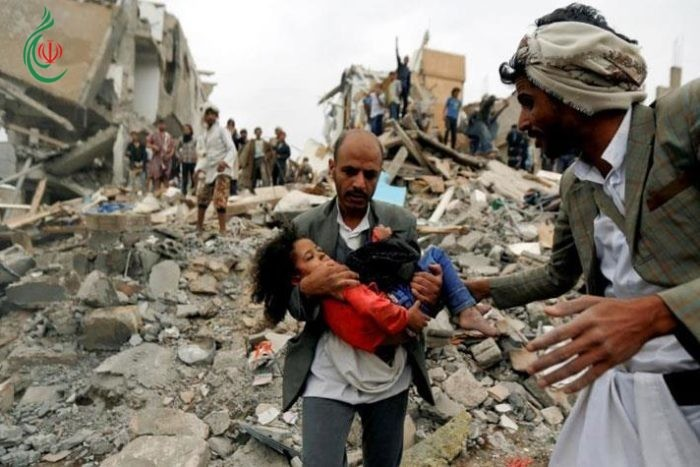 8 شهداء يمنيين اثر جريمة لطيران العدوان السعودي في تعز