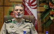 القائد العام للجيش الإيراني : معلوماتنا الاستخباراتية لا تشير لحرب إلا أننا على أتم الإستعداد