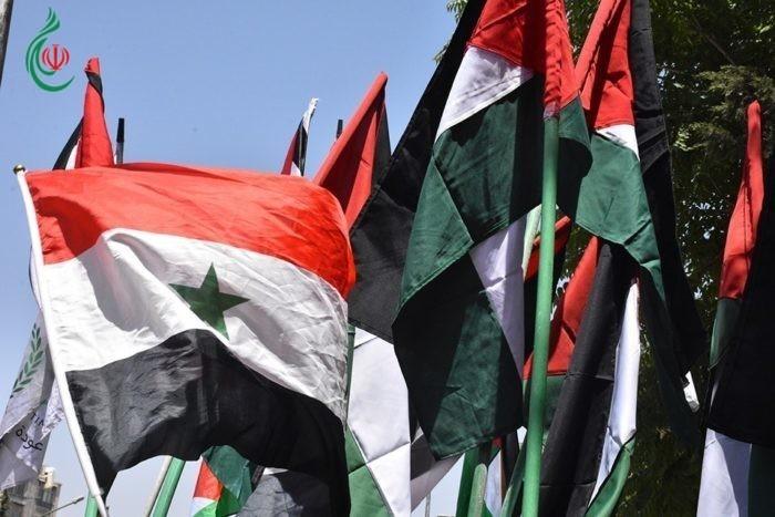 بحضور أركان السفارة الإيرانية في سورية : ملتقى دمشق القومي : متحدون في مواجهة صفقة القرن وورشة البحرين
