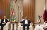 أمير قطر يستقبل قادة من