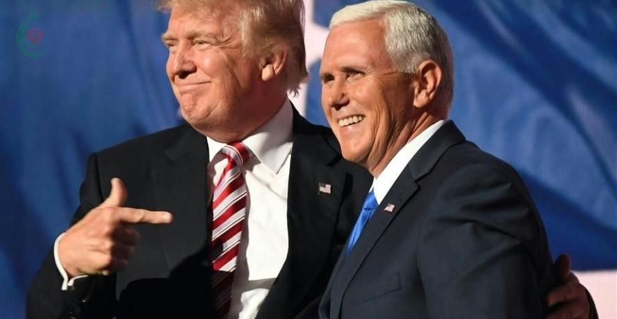 ترمب : إيران تلعب بالنار ..و بنس أميركا لن تتراجع و نحذر إيران
