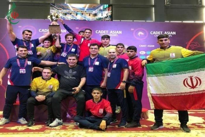 إيران تحصد لقب بطولة آسيا للمصارعة الرومانية للشباب