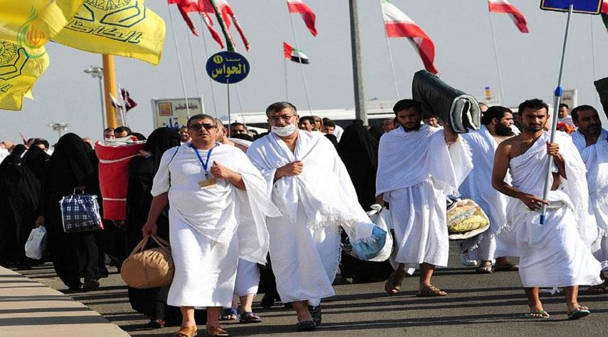 اكثر من 42 ألفاً من الحجاج الإيرانيين يصلون إلى الديار المقدسة