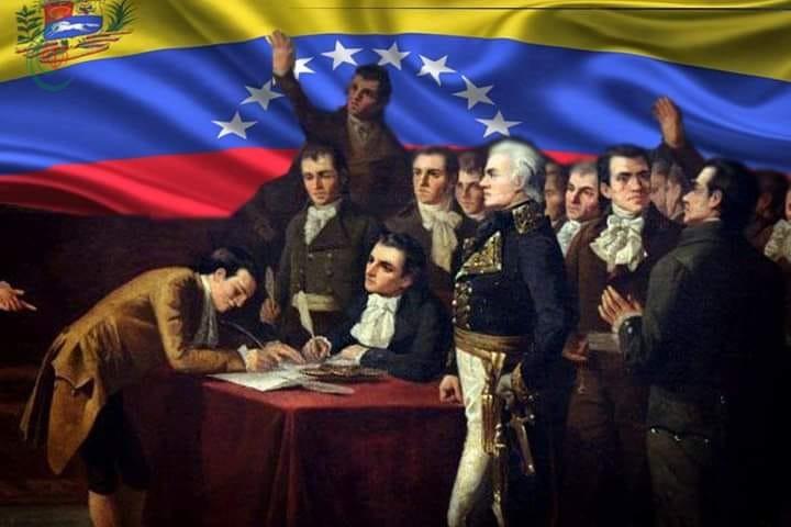 استقلال فنزويلا على الامبراطورية الإسبانية و الغطرسة الإمبريالية