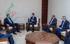 الرئيس الأسد يبحث مع عبد اللهيان علاقات البلدين ومستجدات الحرب على الإرهاب في سورية والأوضاع في المنطقة