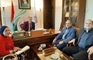 المستشار الثقافي للجمهورية الإسلامية الإيرانية في سورية يبحث مع رئيس جامعة دمشق تطوير آفاق التعاون الجامعي بين البلدين وإقامة مؤتمر علمي مشترك حول ( ابن عربي )